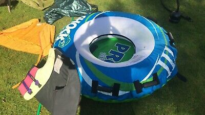 Watersports - Doughnut ring, inflatable and towable. Pro Series/Shock Wave
