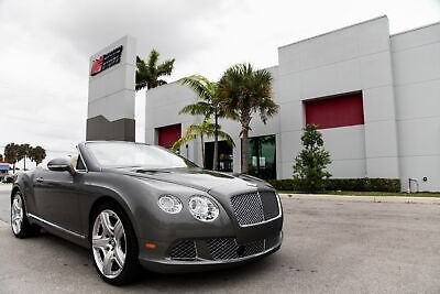 2013 Bentley Continental GT 2013 CONTINENTAL GTC - MULLINER - WELL MAINTAINED - HEATED AND COOLED SEATS