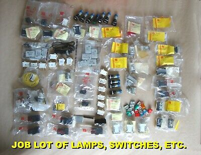 WHOLESALE LOT of ROCKER SWITCH, MICROSWITCH & LAMPS including FLOAT SWITCH