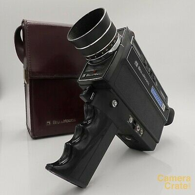 Bell & Howell Filmosonic 1235 XL Super 8 Cine Film Camera - Fully Working XL2041