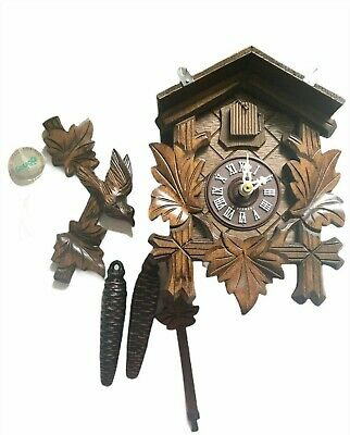 VINTAGE CUCKOO CLOCK, MADE IN GERMANY NEW IN A BOX parts yet installed
