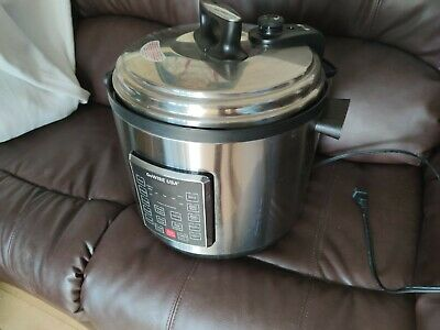GoWISE USA GW22637 4th-Generation Electric Pressure Cooker, 14 QT, Stainless