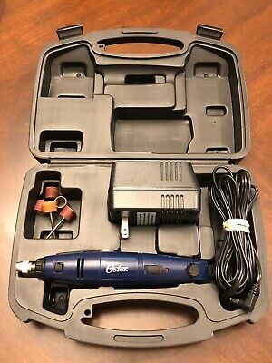 OSTER PRO GROOMER NAIL GRINDER SET Electric Pet Dog Cat Claw Trimmer  - Open Box