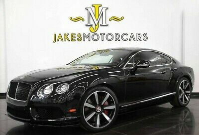 2014 Bentley Continental GT V8 S MULLINER Coupe ($225,760 MSRP) 2014 CONTINENTAL GT V8 S MULLINER COUPE~$225,760 MSRP~BLACK/BLACK~ RED STITCHING