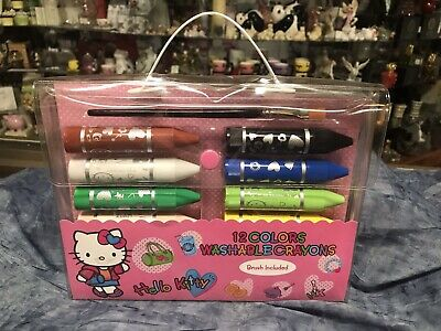 Hello Kitty Washable Crayons/Paint Effect E536
