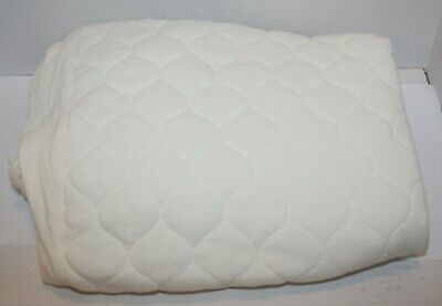 American Baby Waterproof Quilted Fitted Portable/Mini Crib Mattress Pad Cover