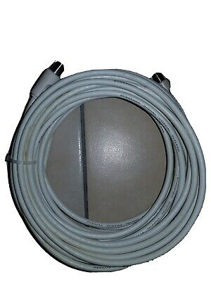 10m coaxial flylead or extension cable for television aerial lead + BONUS!
