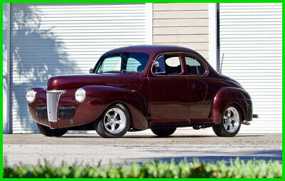 1941 Ford Deluxe Deluxe Coupe Resto-Mod / 5.0 HO V8 / Automatic 1941 Ford Deluxe Coupe Resto-Mod 5.0L 302 HO V8 Automatic
