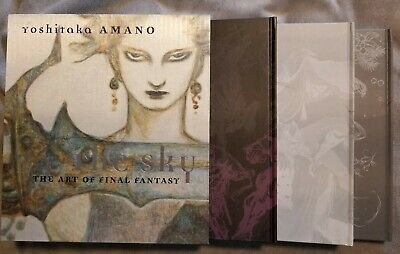 Yoshitaka Amano-The Sky: The Art Of Final Fantasy Box Set (Books 1-3)