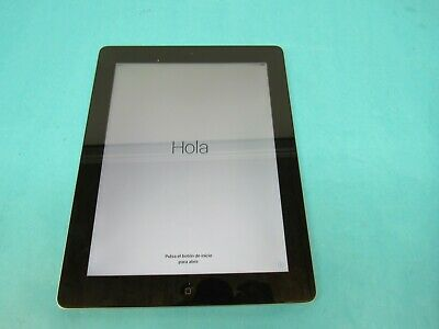 "Apple iPad 4th Gen., 16GB, Wi-Fi, 9.7"" Black (MD510LL/A) A1458"