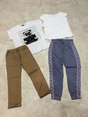Girls Outfit Sets Bundle, 9-10 Years, Trousers, Tshirts, Next, New Look