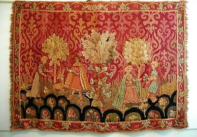 Tapestry Handwoven Loom 18th C. Style European American