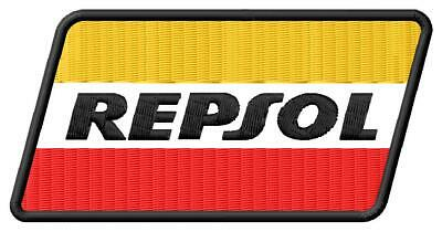 Repsol iron on PATCH Aufnäher Parche brodé patche toppa racing honda