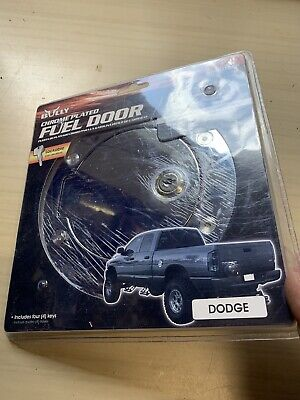 Bully CHROME PLATED FUEL DOOR GD-302 CKP