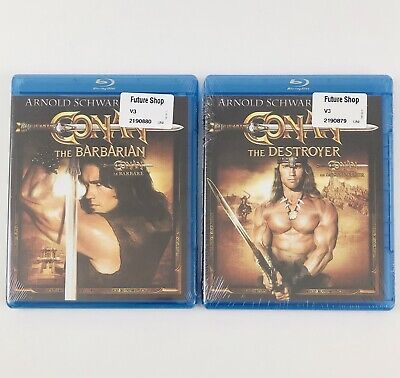 Conan: The Barbarian and The Destroyer (Blu-ray) Arnold Schwarzenegger