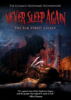 ENGLUND,ROBERT-Never Sleep Again: The Elm Street Legacy (US IMPORT) DVD NEW