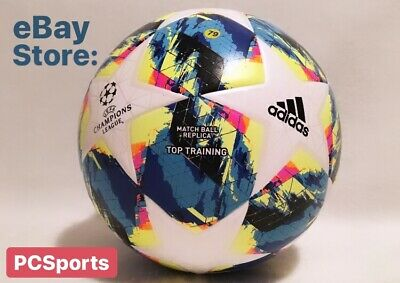 Men's Adidas UEFA Champions League Finale Top Training Soccer Ball DY2551 Size 5