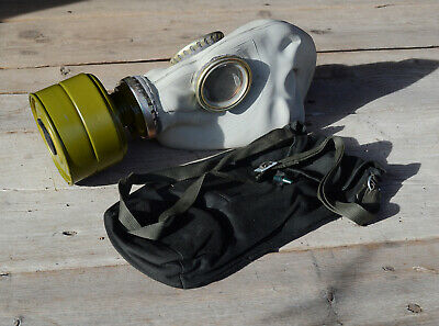 Soviet gas mask Military GP-5 with bag, Russian respiratory face mask All Size