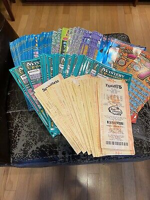California Lottery tickets $20, $10 Second Chance Scratchers 2nd Fantasy/super L