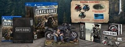 NEW Sealed Days Gone Collector's Edition Limited PS4 PlayStation 4 Sony Bend