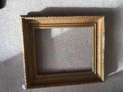 Victorian picture frame. heavy, antique.