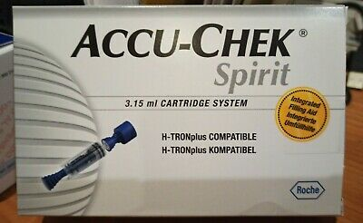 Accu-Chek Spirit Cartridge System 3.15 ml  Box