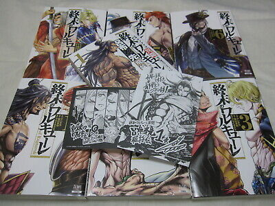 ALL New W/Limited paper Shumatsu no Walkure Vol.1-6+Gaiden 7 Set Japanese Manga