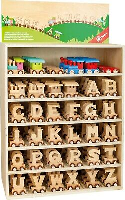 Personalised wooden name train letters Toy Child Bedroom Please Read Description