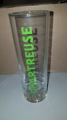 Lot 8 Verres tube Chartreuse 22 cl - Neufs