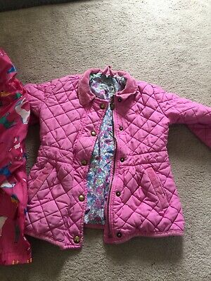 Joules Kids Age 5 Quilted Jacket And Raincoat