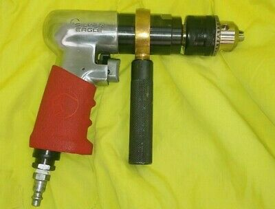 """USED Silver Eagle SE155 1/2"""" Reversible Air Drill"""