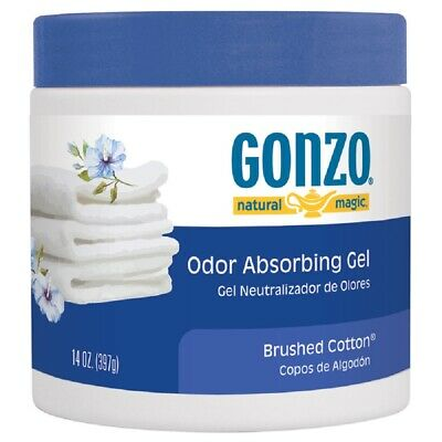 Gonzo 4120D Natural Magic Odor Absorber, Brushed Cotton, 14 Oz
