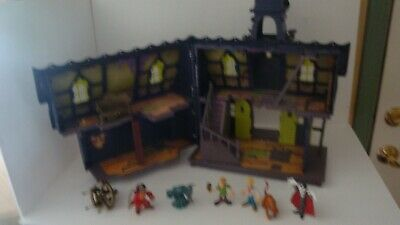 Scooby Doo Haunted Mansion Deluxe Playset Hanna Barbera Incomplete Good Used :)