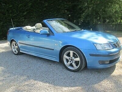 2006 06 SAAB 9-3 1.9 TiD VECTOR CONVERTIBLE DIESEL MANUAL.REALLY LOVELY CAR