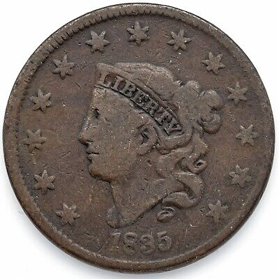 1835 Liberty Head Large 1¢ (Penny) Fine