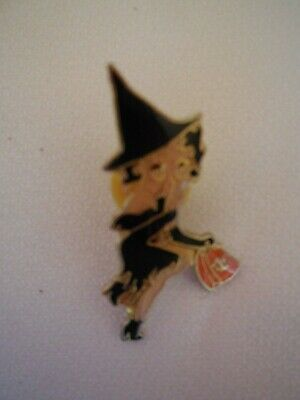 Betty Boop Witch Pin