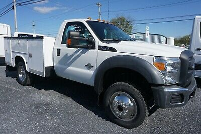 2012 FORD F450 SUPER DUTY 4X4 DRW UTILITY TRUCK 54k ACT. MILES 6.7 LITRE DIESEL