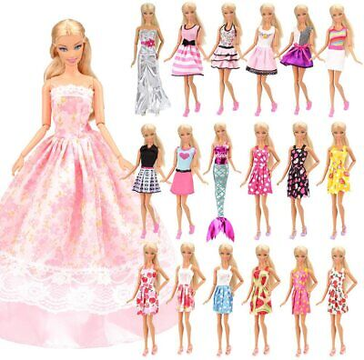 Clothes and Accessories For Barbie Dolls-15 Outfits 40 Different Accessories