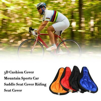 3D Soft Silicone Cycling Bike Bicycle Cover Saddle Seat Gel Cushion Cushion H5Z8