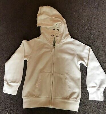 Girls White Hoodie Age 6 From Next. Used But In Very Good Condition.
