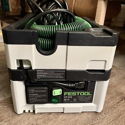 Festool 584174 Cleantec CT SYS Hepa Dust Extractor (Tested Only)