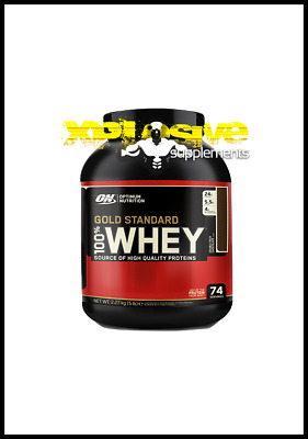 Optimum Nutrition Gold Standard 100% Whey Protein 2.27kg cookie Highest Quality
