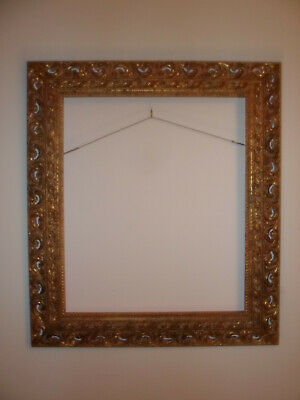 """Nice gold gilded wood carved frame for a 20"""" X 24"""" Canvas/Print"""