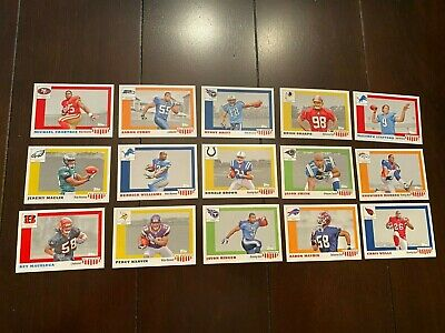 2009 Topps Football All American Wal-Mart Exclusive Set (15) - STAFFORD, WELLS