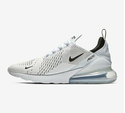 NEW Nike Air Max 270 White 100% Authentic AH8050-100 Men's Sizes 10.5-13