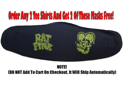 Rat Fink Mask Dual Print S07858 (Package Of 2)