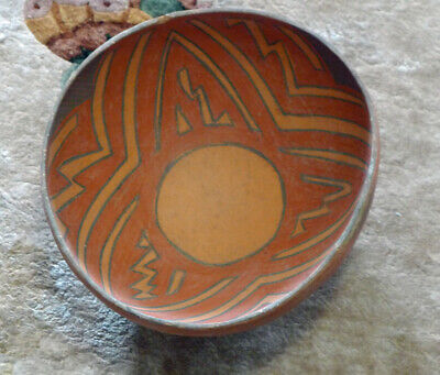 Authentic Polychrome Pre-Columbian Bowl Costa Rica or South America