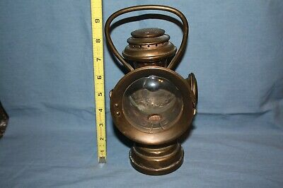 Antique The Neverout Insulated Kerosene miner's safety lamp (Item 85)