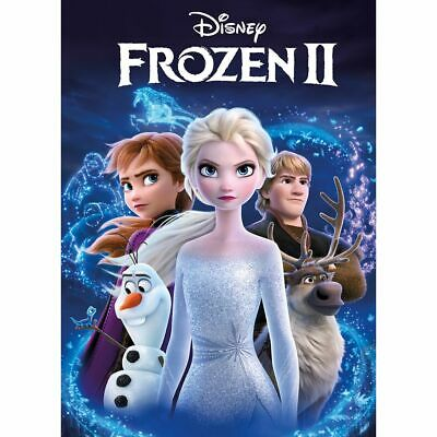 Frozen 2 (Dvd,2020,Release) A Super Family Adventure,Free Shipping...