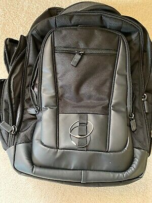 Black Samsonite Prowler ST6 Laptop Backpack Lightly Used Travel Carry On $145